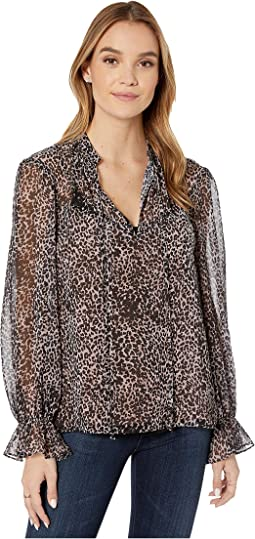 Breezy Cheetah Top