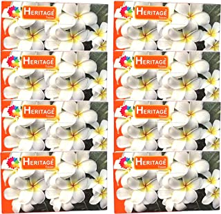 Heritage Tissue Paper Facial Dry, Super Soft 2Ply 100 Pulls 200 Sheet Per Box-pack of 8
