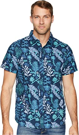 Short Sleeve Bay Trail Novelty Woven Shirt
