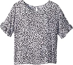 All Over Print Voile Top (Big Kids)