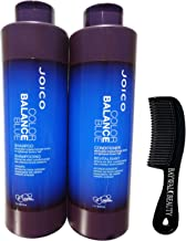 Joico Color Balance Blue Shampoo & Conditioner 33.8 oz With FREE Shower Comb