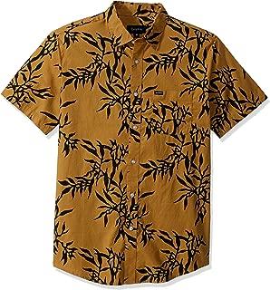 Men's Charter Print Standard Fit Short Sleeve Woven Shirt