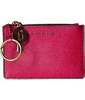 Marc Jacobs - Metallic Saffiano Top Zip Multi Wallet