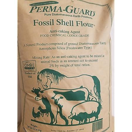 PERMA-GUARD EasyGoProducts EGP-DE-50A Perma-Guard Diatomaceous Earth-DE Food Grade - 100% Organic - OMRI Or, Clear