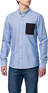 Only & Sons ONSALVARO LIFE LS CONTRAST OXFORD SHIRT heren hemd