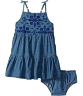Lucky Brand Kids - Denim Embossed Dress (Toddler)