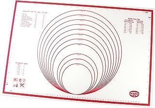 Dr. Oetker 1923 Paillet Silicone Flexxibel 60x40 cm Rouge, Plastique, 60 x 40 x 0,5 cm