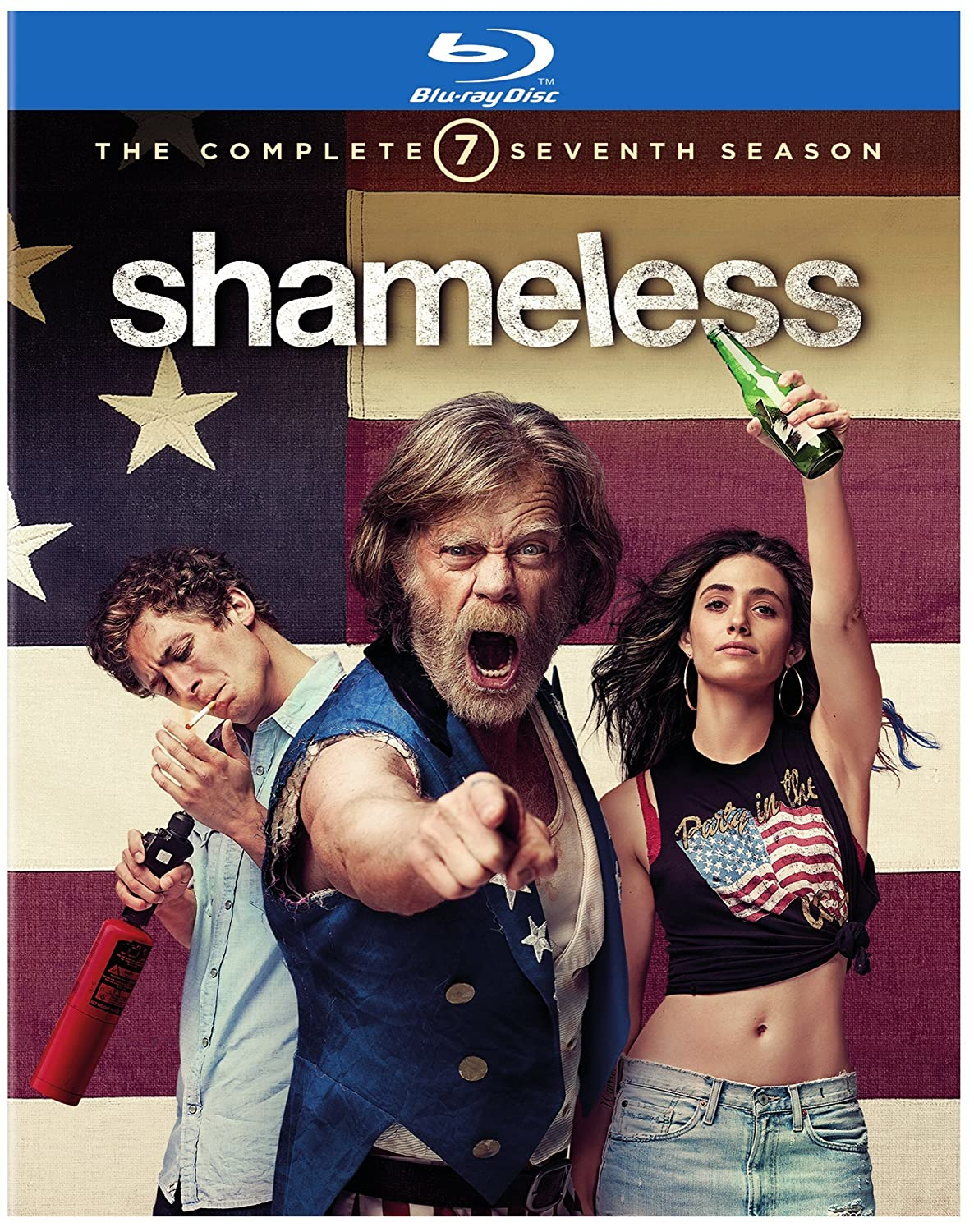 El Paso Mall Shameless: The Complete Large discharge sale Blu-ray Seventh Season