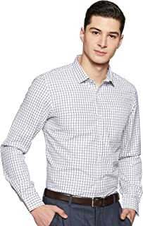 EX Men's Plain Regular Fit Formal Shirt