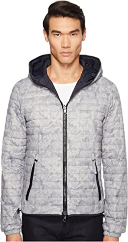 Dragotre Hooded Reversible Light Down Jacket