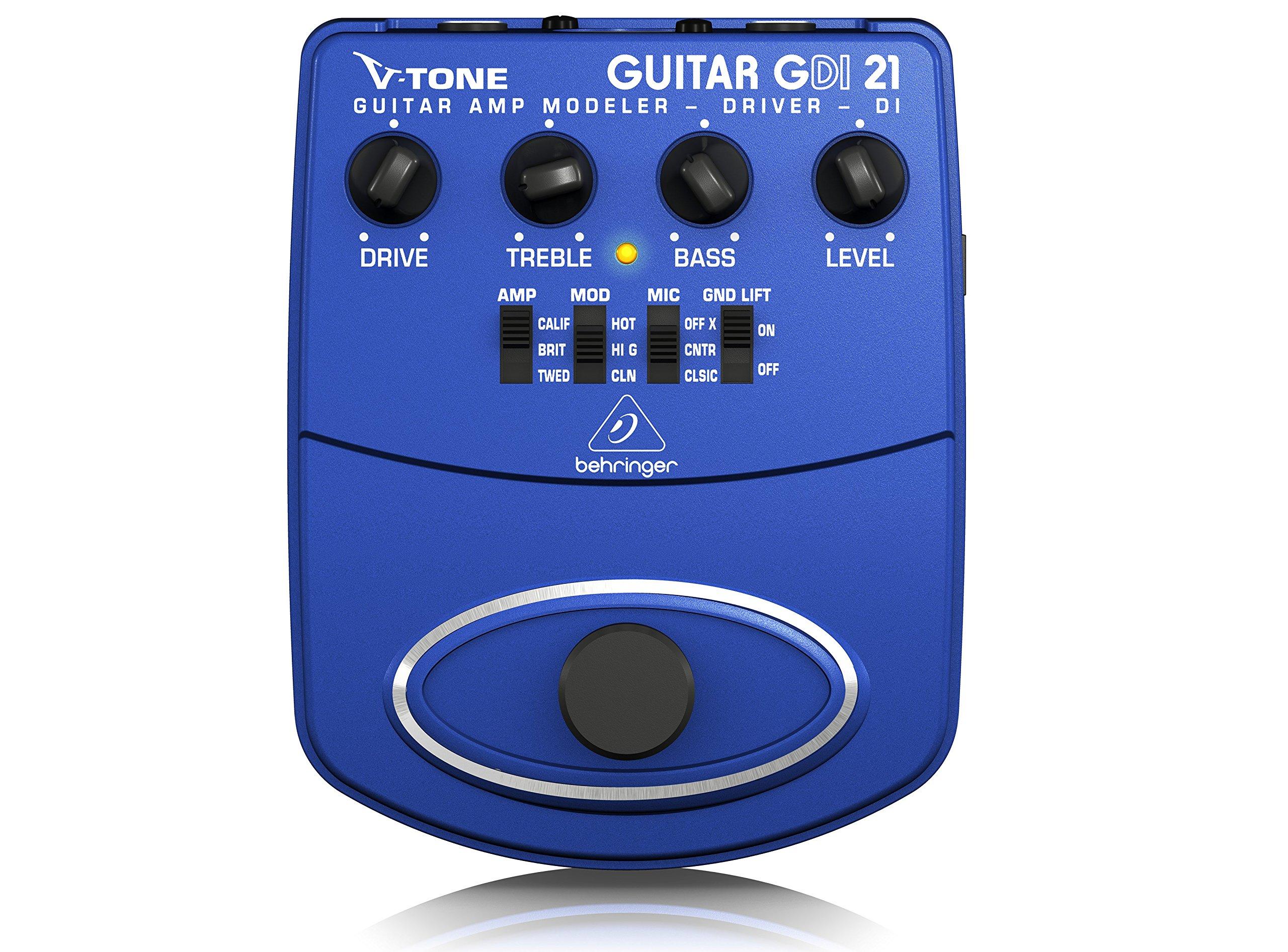 Behringer GDI21 V - Pedal de efectos para guitarra: Amazon.es ...