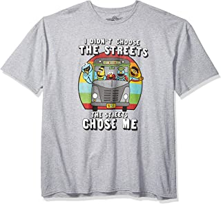 Sesame Street Unisex CHOOSE ME Funny Cookie Monster Munchies Bert Ernie Oscar and Friends T-Shirt