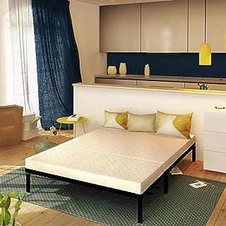 Baldiflex Matelas BZ pour canapé lit Brio Memory avec 2 Plis, 120x190 cm, Mousse à mémoire, Épaisseur 10 cm, Revêtement Co...