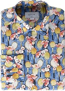 59ea69c5e8c Eton slim fit large paisley print shirt | Shipped Free at Zappos