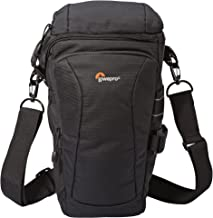 Lowepro Toploader Pro 75 AW II - Funda para cámara, color negro