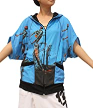 RaanPahMuang Salvadore Dali - Burning Giraffe - Butterfly Wing Jacket Hoody