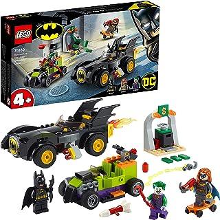 LEGO 76180 DC Batman Contre le Joker : Course-Poursuite en Batmobile, Jeu de Construction pour Enfant, Jouet Voiture