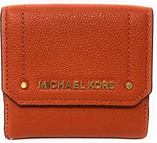 97c73033adc9 Michael Kors Hayes Medium Trifold Coin Case Leather Wallet