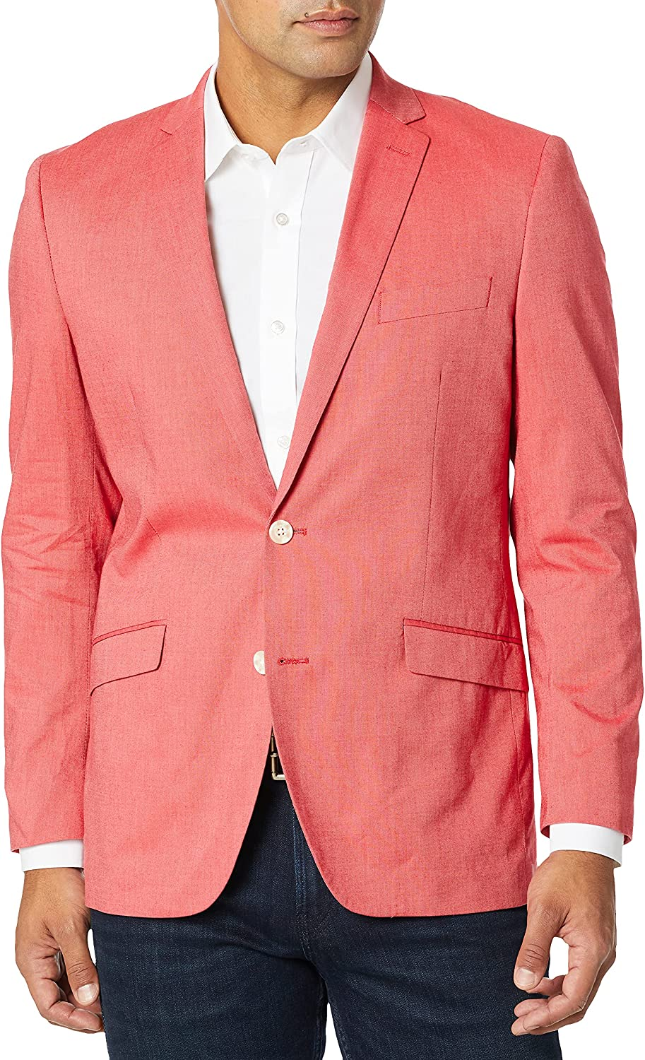 Unlisted by Kenneth Cole Men's Chambray Blazer