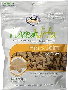 Pure Vita, Dog Treats, Hip & Joint, 6 Oz