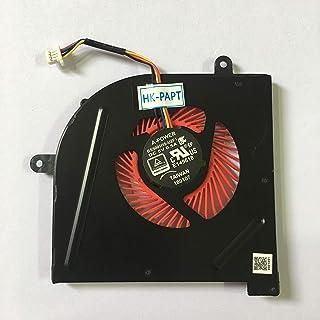 HK-part Fan Replacement for MSI GS63VR Series GS63VR 6RF GS63VR 7RF GS63VR Stealth Pro MS-16K2 MS-17B1 BS5005HS-U2F1 CPU C...