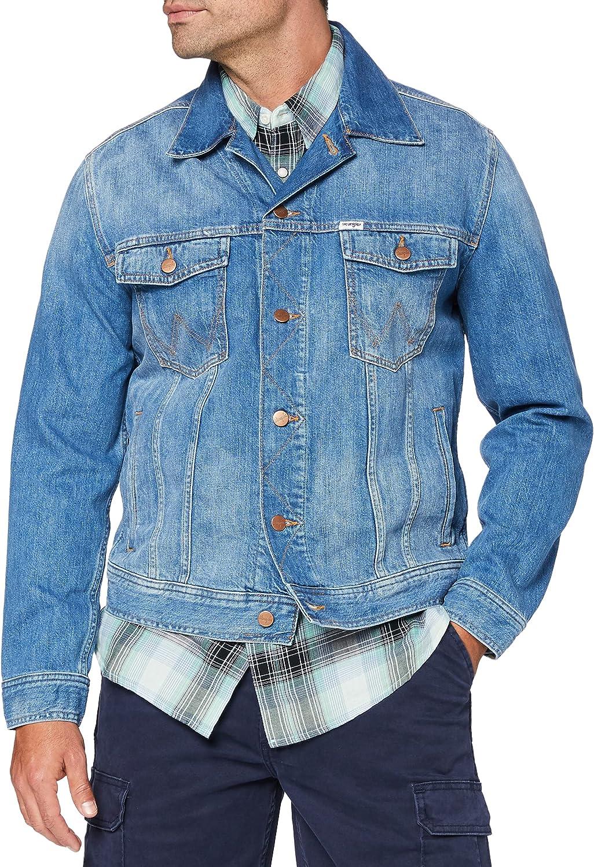 Wrangler Authentic Jacket Chaqueta de Mezclilla para Hombre
