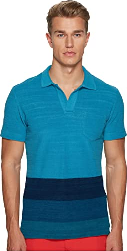 Orlebar Brown - Terry Block Stripe Polo
