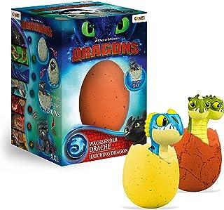 Craze Magic DreamWorks Growing Egg Dragons Niespodzianka jajko 13328, kolorowe, XXL