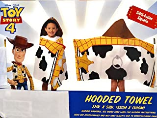 Jay Franco and Son Toy Story Hooded Bath Towel 22 in. x 51 in.