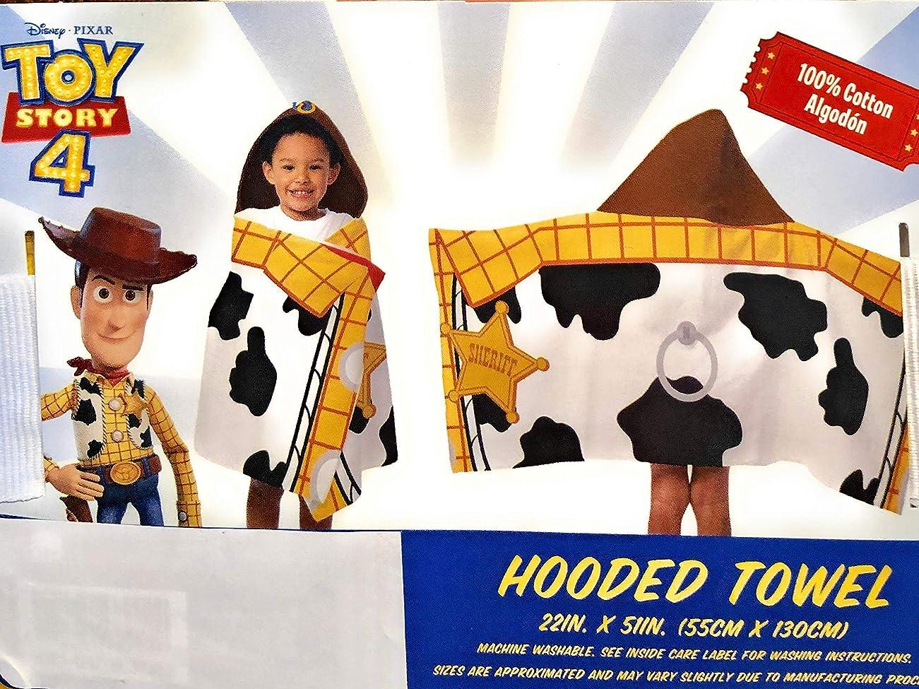 才能のある特許始めるJay Franco and Son Toy Story フード付きバスタオル 22インチ x 51インチ。