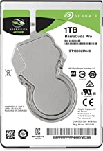 Seagate Barracuda Pro Performance Internal Hard Drive SATA HDD 1TB 7200RPM 6Gb/s 128MB Cache 2.5-Inch (ST1000LM049)