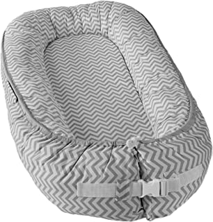 Little Archer & Co.™ Newborn Baby Nest - Easy to Move, Co-Sleeping, Breathable and Soft, 100% Cotton and Eco-Friendly (Gre...