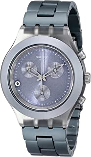 Men's SVCM4007AG Plastic Analog with Grey Dial Watch