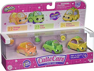 Shopkins Cutie Car Spk Season 1 Fast N Fruity 3 Pack