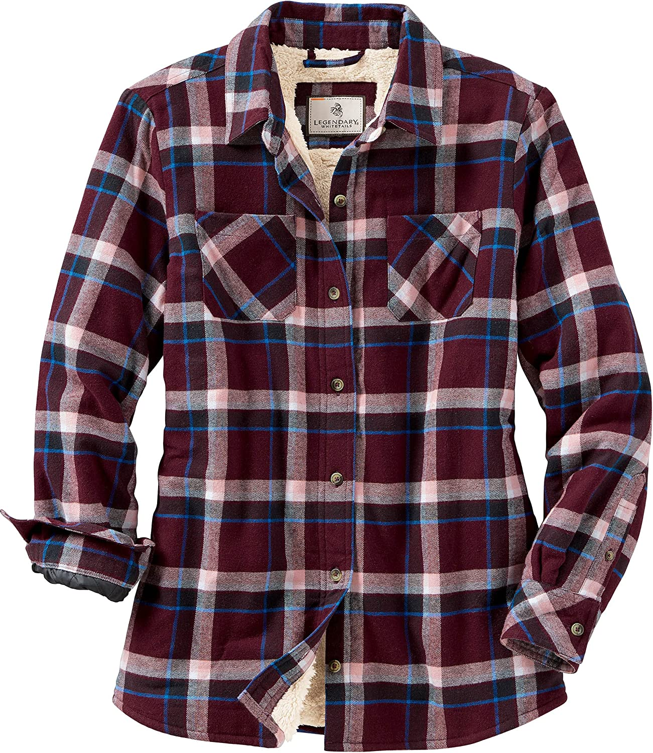 Legendary Whitetails Women's Open Country Plaid Shirt Jacket