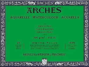 aquarelle arches watercolour block