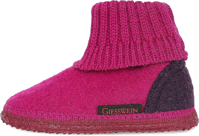 Giesswein Walkwaren AG Kramsach Kids Pantofole a Stivaletto Unisex-Bambini