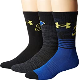 Under Armour - UA Phenom Curry Crew 3-Pack
