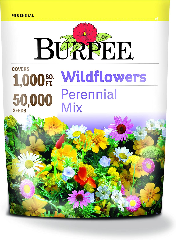 Burpee Wildflowers Perennial Mix | 50,000 Seeds