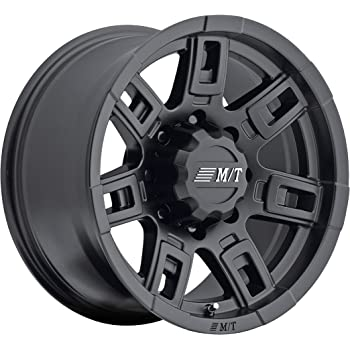 "Mickey Thompson Sidebiter II Wheel with Satin Black Finish (16x8""/6x5.5"") 0 millimeters offset"