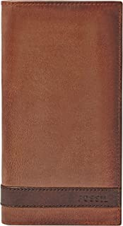 Fossil Men's Quinn Executive Wallet, Brown, One Size (ML3651200)