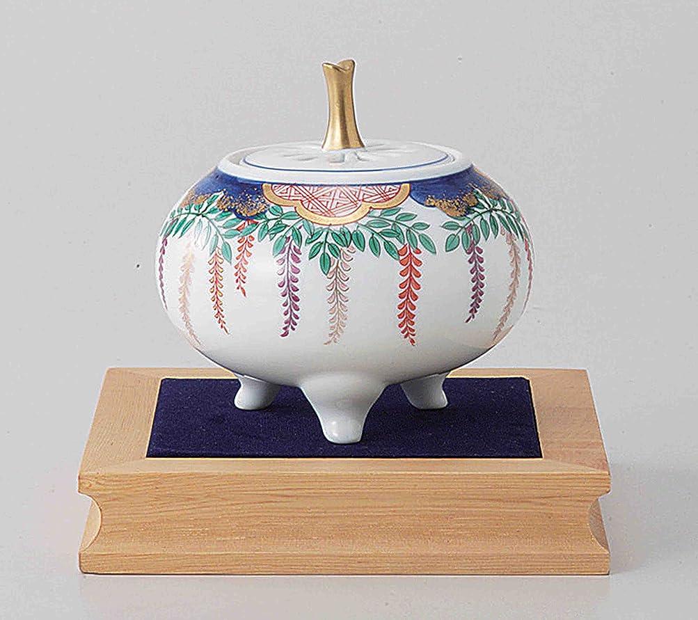 感じる本質的にベーリング海峡東京抹茶Selection?–?Arita Porcelain Cencer : Wisteria?–?Incense BurnerホルダーWベース&ボックス日本から[ EMSで発送標準: withトラッキング&保険]
