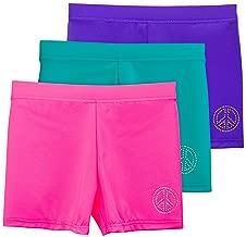 Lucky & Me | Ella Girls Dance Shorts for Gymnastics & Dancewear | Multicolor | 3-Pack