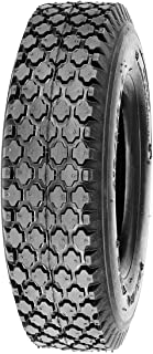 Deli Tire S-356, Stud Tread, 4-Ply, Tubeless, Lawn and Garden Tire (4.10/3.50-6)