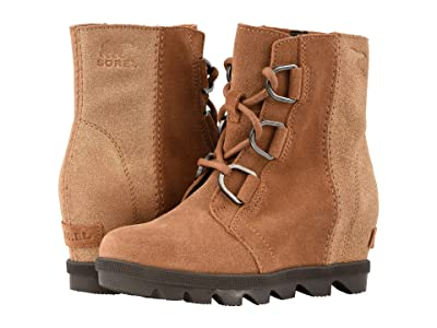 SOREL Kids Joan of Arctictm Wedge II (Little Kid/Big Kid) (Camel Brown/Cordovan) Girls Shoes