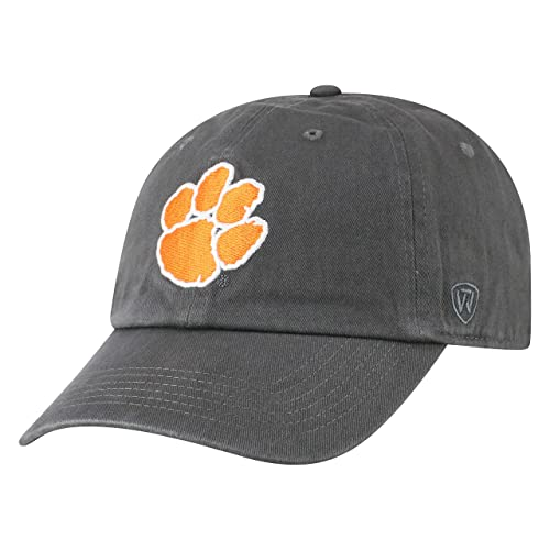 Top of the World NCAA Men s Hat Adjustable Relaxed Fit Charcoal Icon 784e22026b2