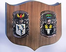 Double Cadet Family Crest