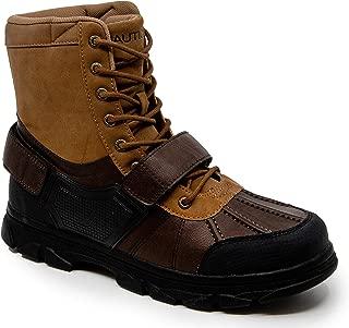 Men's Kressler Lace Up Adjustable Strap Winter Snow Boots Insulated Water Resistant Shoe