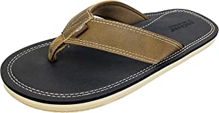 Men's Flip Flop Sandal ; Classic Comfort Footbed with Two-Tone Upper, Size 8 to 13