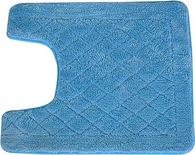 Everrouge Memory Foam 20-Inch by 24-Inch Contour Rug, Cotton Memory_Foam, Light Blue, 20-Inch by 24-Inch